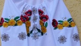 вишиванка ′Вінок на Купала′ для дівчинки