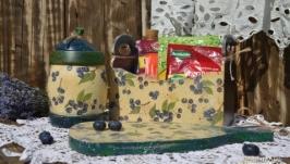 Набор для кухни ′Любимая черника′