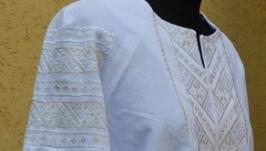 українська вишивка ′білим по білому′ Святкова