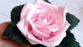 Роза ручной работы!