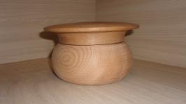 Деревянная шкатулка Гриб