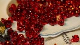 Картина лентами «Вкусные ягоды»