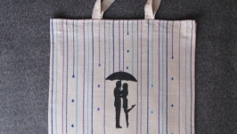 Эко-сумка ′Под дождем′