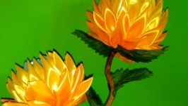 Топиарий для интерьера настольный ′Цветы′, патриотические цвета