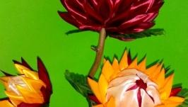 Топиарий для интерьера ′Осенние Астры′