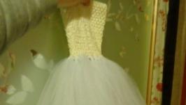 Платье пышное детское ′Ту-ту′, длинное