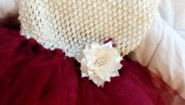 Платье для девочки ′ту-ту′ в пол ′Воздушная элегантность′