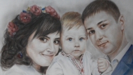 Сімейний портрет в кольорі