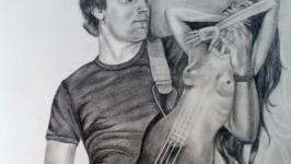 Портрет гітарист