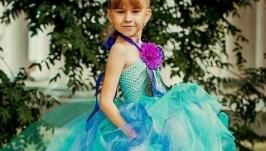 Платье детское с фатиновой юбкой