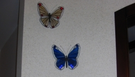 Изготовление декор элементов.Тиффани. Бабочки.