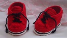Пинетки ботиночки (кеды)