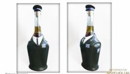 Декор бутылки «День защитника Украины» Подарок мужчине военному.