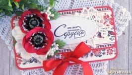 Весільний конверт для грошового подарунку