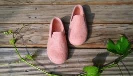 Валяні лофери ′Рожевий корал′