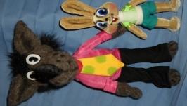Волк и заяц из мф ′Ну,погоди!′