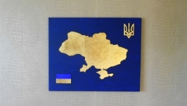 Панно интерьерное  ′Моя Україна′