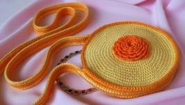 Сумочка-малышка ′Оранжевое детство′