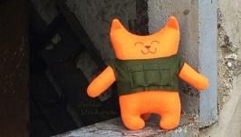 Игрушка кот-военный