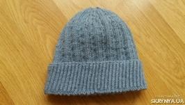 Классическая мужская шапка с отворотом