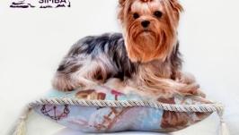 Подушка для собак Vintage Blue Pets Couturier SIMBA для выставок и дома