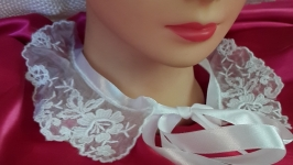 Воротничок для платья, блузы, школьной формы.