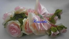 Резинка на гульку  ′Чайная роза′