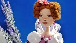 Авторская текстильная кукла-грелка для чайника