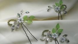Комплект шпилек ′ Нежный цветок′