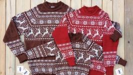Семейные свитера