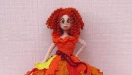 Каркасная куколка Рыжий Лучик