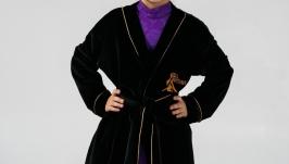 Халат -кимоно для бальных танцев