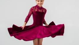 Рейтинговое платье (Бейсик) для бальных танцев ′Punch′