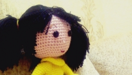 Амигуруми.Кукла