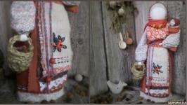 лялька мотанка Горобинка (Рябинка)
