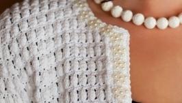 Кардиган ′Белый жемчуг′
