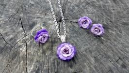 Комплект ′Фіолетові троянди′