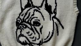 Женский жилет ′Год собаки′