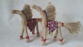Мужской оберег ′Солнечный конь′.