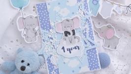 Зірковий конверт на перший день народження