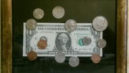 Картина из монет ′США′