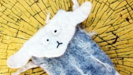 Валяний чохол для телефону ′Вівця′