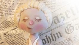 Интерьерная текстильная кукла Монро по мотивам Гапчинской Е.Г.
