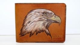 Мужской кошелек Handmade