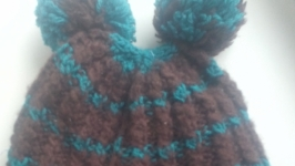 Шапочка вязанна и шарфик