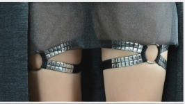 Подвязки женские на ножки.