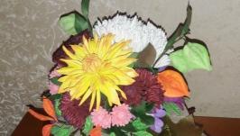 Интерьерная композиция Бал осенних цветов