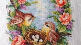 Картина ′Семейное гнездышко′.