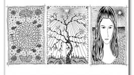 Мистическая графика гелевых ручек. Авторская техника рисования для каждого!