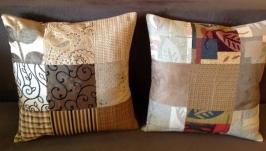 Комплект декоративных подушек Пэчворк